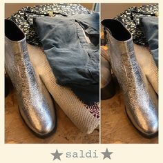 Silver boots⚡️SALDI! SALES! SALDI! ⚡️30% 40% 50% off in store! #bacomilano #sales #milan #love #photooftheday #beauty #beautiful #instagood #instafashion #pretty #girly #girl #girls #model #styles #outfit #purse #shopping #boots