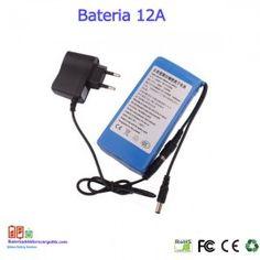 Bateria recargable litio 12V / 12A