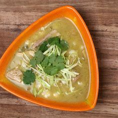 Warm up your leftovers, warm up your soul. A few extra ingredients turn your turkey into a spicy posole. From @CHOW.com, found at www.edamam.com.