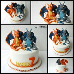 CHARIZARD X&Y - POKEMONS CAKE