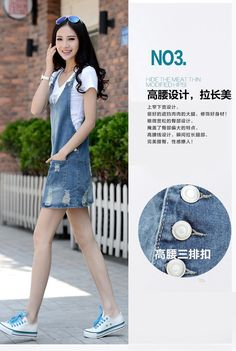 Summer Dress 2016 Women Brand Denim Sundresses Casual Fashion Cotton Multi-pocket Strap Dresses Big Size Blue Dress for Woman   http://www.dealofthedaytips.com/products/summer-dress-2016-women-brand-denim-sundresses-casual-fashion-cotton-multi-pocket-strap-dresses-big-size-blue-dress-for-woman/