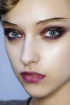 Beauty and Makeup from Christian Lacroix Fall 2008.