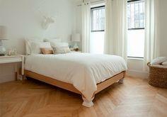 White Bedroom - via The Brooklyn Home Company