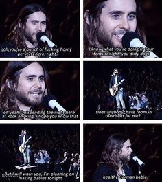 Hahaha Jared <3