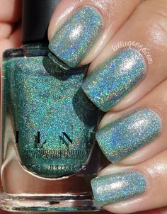 Brand: ILNP // Collection: Summer 2015 Ultra Holos // Color: Ten Fold // Blog: Kellie Gonzo