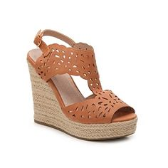 GC Shoes Celina Suede Wedge Sandal