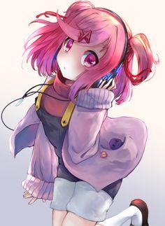 ❇️🌸❇️🌸❇️🌸❇️🌸❇️ Natsuki looks cute with that outfit ♥️ ❇️🌸❇️🌸❇️🌸❇️🌸❇️ ~~~~~ Doki Doki Anime, Fanart, Cute Games, Awesome Games, Dibujos Cute, Yuri, Literature Club, Chica Anime Manga, Kawaii Anime