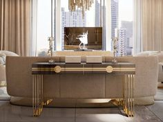 Rectangular console table SYMPHONY - INFINITY | Console table