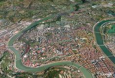Lyon et ses 2 fleuves