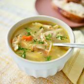 Basic Chicken Soup | chopchop