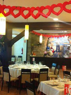 Preparación de San Valentín en Hotel el Aguila Zaragoza 2