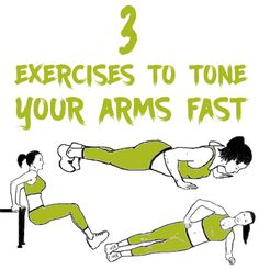 3 Exercises To Tone Your Arms Fast