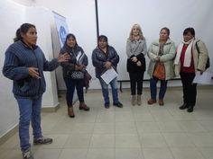 En el CIC del Barrio Union se entregaron de una capacitacion sobre Tecnicas de Liderazgo.  Que se habian venido realizando para las Cooperativas que se nuclean dentro del Programa Ellas Hacen.