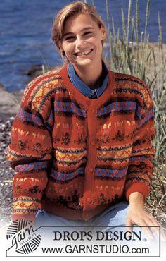 DROPS 27-3 - DROPS folklore jacket in Karisma Superwash - Free pattern by DROPS Design