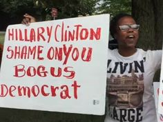 Haitians at the DNC protested Bill and Hillary Clinton and the Clinton Foundation's actions after the 2010 earthquake in Haiti.