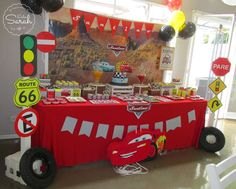 Cars (Disney movie) Birthday Party Ideas | Photo 4 of 26