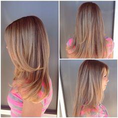 Soft summer blonde.☀️color by designer stylist Liz! #blonde #stylist #lovemyjob #lorealpro #longhair #beautiful #btc #btcpics #seasonssalon #color #colorexpert #ombre #melt