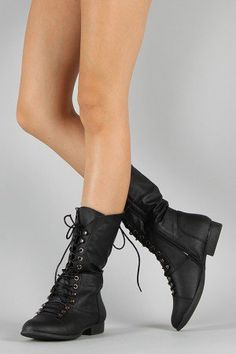 20+ Mid Calf Lace Up Boots ideas   lace