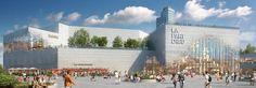 MVRDV redesign of Europe's largest urban shopping center breaks ground in France   Inhabitat - Green Design, Innovation, Architecture, Green Building