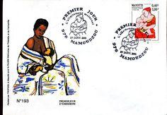 Mayotte France 2001 Breastfeeding stamp