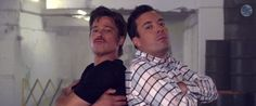 Brad Pitt And Jimmy Fallon Breakdanced Together, And It Was Amazing (I didn't know anybody breakdanced anymore!)