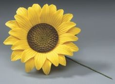 10ct Sunflowers Gum Paste for Weddings and by AllAmericanElegance, $39.97