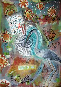 Where am I, where am I going with my art? I'm discovering Who I am and Who I want to become
