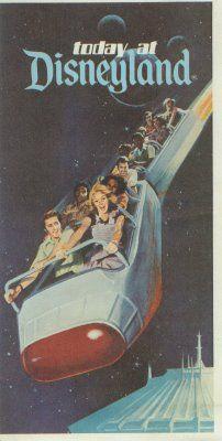 Vintage Disneyland - Space Mountain #Disney #Tomorrowland #SpaceMountain