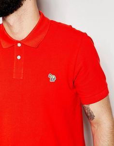 Image 3 of Paul Smith Jeans Polo with Zebra Logo