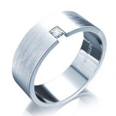 Baguette Diamond Men Wedding Rings - The Wedding Specialists