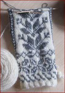 Norwegian knitting is the prettiest