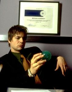 Brian Kinney [Queer as Folk, Gale Harold] Showtime Tv Series, Randy Harrison, Brian Kinney, Brian And Justin, History Of Television, Gale Harold, Queer As Folk, Blonde Boys, Hot Actors