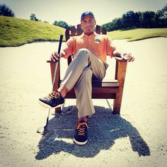 Wondering what the laid back golf lifestyle is?  This pretty much sums it up.  #freddycool #fredcouples