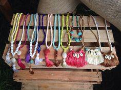 #ColarTassel • Difícil escolher um só! 🌼 #colares #beachwear #modapraia