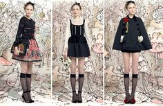 RED Valentino Fall/Winter 2013-2014 Collection. All the photos are here: http://www.fashionisers.com/fashion-news/red-valentino-fall-winter-2013-2014-collection/