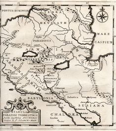 Map of the Location of Eden, (1785)