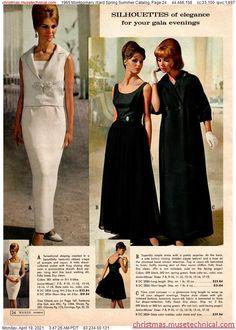 Spring Green, Spring Summer, Simple Dresses, Formal Dresses, Montgomery Ward, Christmas Catalogs, Chiffon, Elegant, Pretty