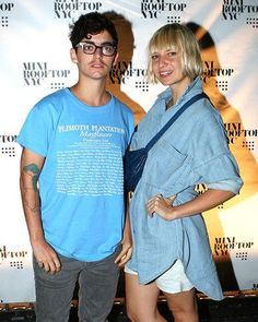 Sia and JD Samson