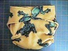 Sew Your Own Fleece Diaper Cover for cloth diapers