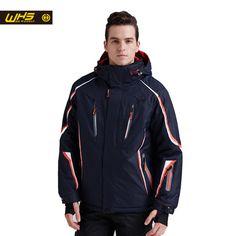Бренд WHS лыжные куртки мужчины ветрозащитный теплый пальто водонепроницаемый сноуборд куртка подростков на открытом воздухе спорт одежда зима  на Алиэкспресс русском языке рублях
