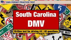 Written test for driving: South Carolina DMV Permit Practice Test 4