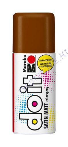 Akrilspray Marabu festék spray 150ml kakaó - Photoline.hu Zugló Raktáráruház - webáruház, webshop