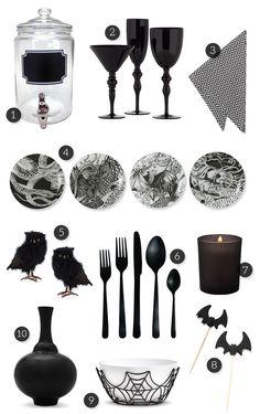 Spooky Glam Halloween Party Ideas
