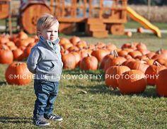 So many pumpkins, so little time.  #pumpkin #halloween #photography #toddler photographer