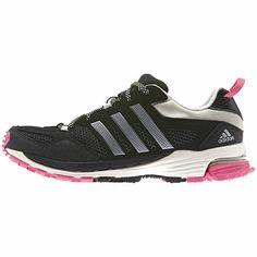 Women's Supernova Riot 5 Shoes, Black / Metallic Silver / Bahia Pink, zoom