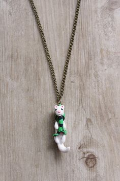 Hey, I found this really awesome Etsy listing at https://www.etsy.com/listing/227252293/malfoy-the-ferret-harry-potter-polymer