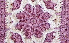 crochet fall blossom granny square | the crochet space