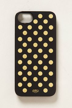 Gilt Dot iPhone 5 Case - anthropologie.com