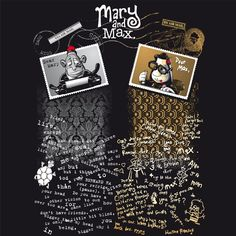Mary And Max Susan S Collection Of 40 Mary And Max Ideas
