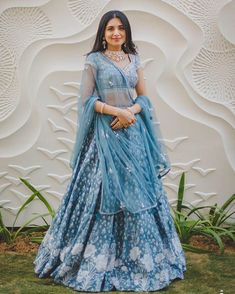 Latest Bridal Lehenga Color Combinations That Are Going To Rule Sabyasachi Lehenga Bridal, Latest Bridal Lehenga, Bridal Dupatta, Blue Lehenga, Lehenga Style, Indian Bridal Lehenga, Anarkali, Indian Gowns, Lehenga Choli